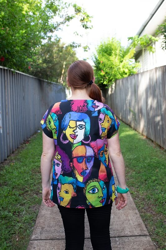 Faces Ladies Top – in two colourways