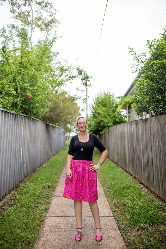 Prawny Prawn Ladies Skirt