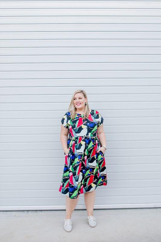 Aussie Birds Ladies Babydoll Dress
