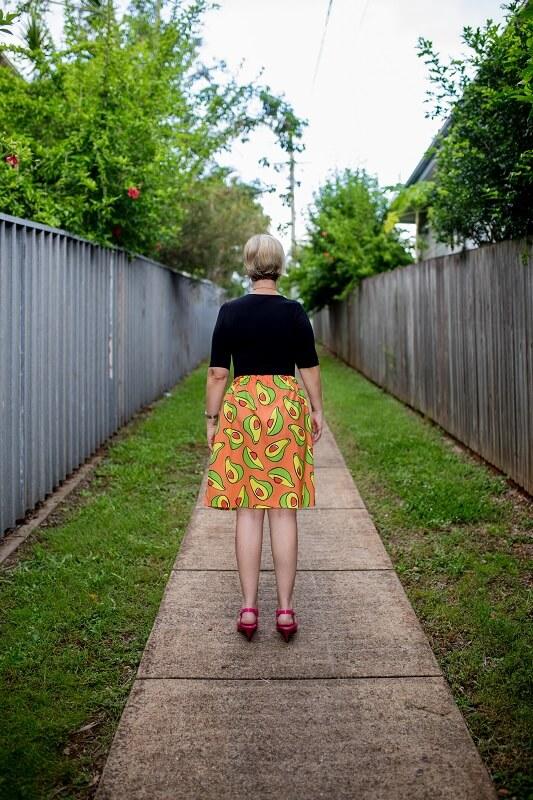 Avo Good Day Ladies Skirt back