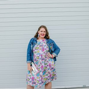 Mix Tape Ladies Babydoll Dress 5