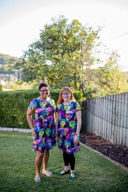 kablooie jersey dresses faces