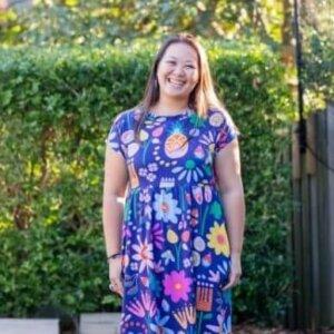 Sunshine Garden Jersey BabyDoll Dress