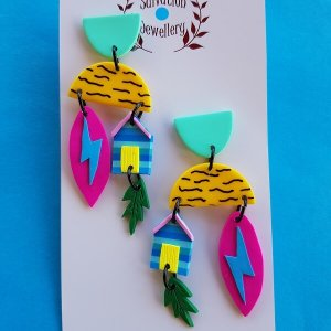 This is Australia Earrings 2