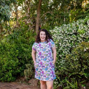 Mix Tape Ladies Jersey Regular Dress