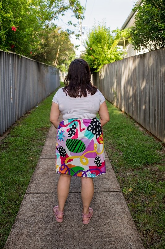 Art Attack Ladies Skirt 4
