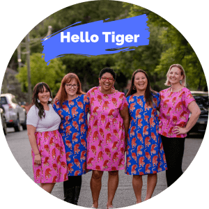 the hello tiger collection from kablooie