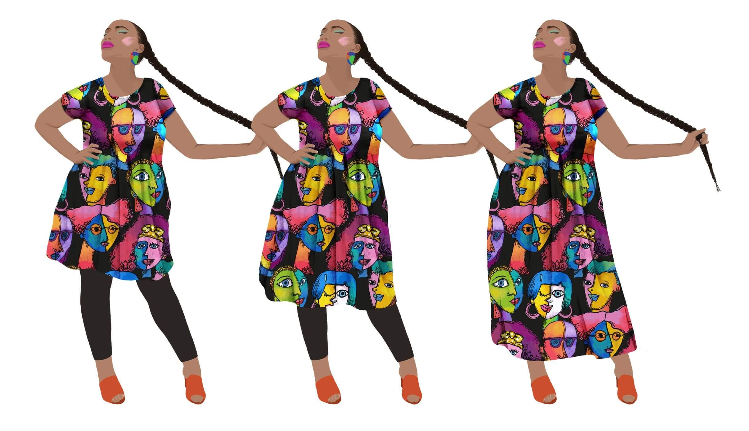 kablooie 3 dress lengths