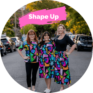 the shape up collection from kablooie