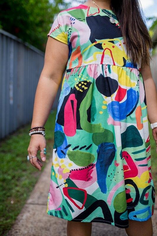 Luminous Ladies Babydoll Dress 3
