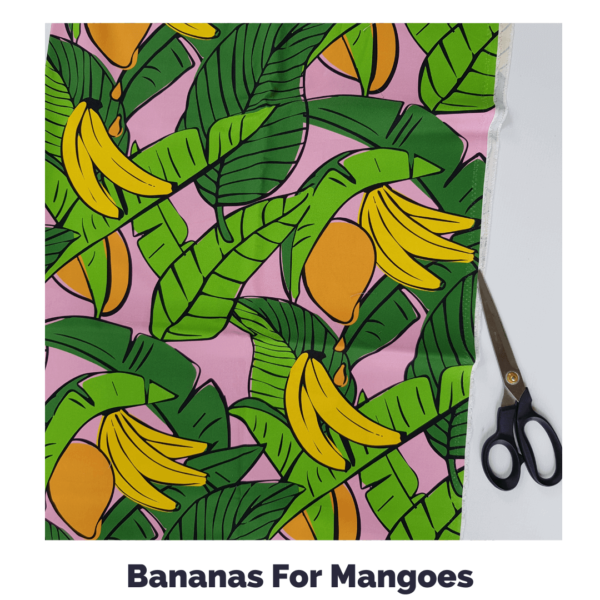 Bananas For Mangoes Fabric