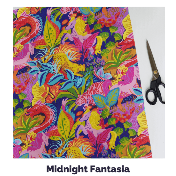Midnight Fantasia Fabric