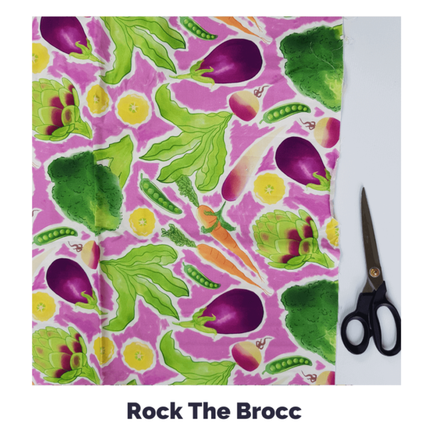 Rock The Brocc Fabric
