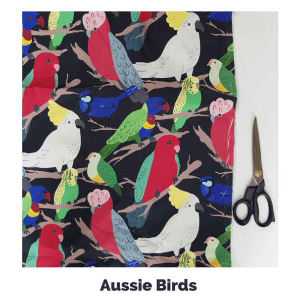 Aussie Birds Fabric