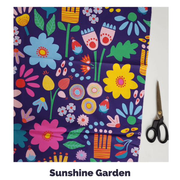 Sunshine Garden Fabric