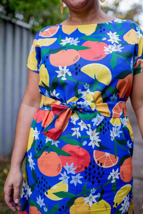 simply the zest regular dress close up