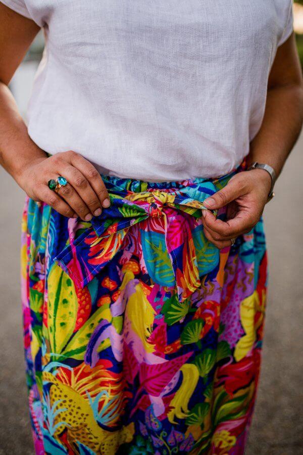 Midnight-Fantasia-Ladies-Cotton-Maxi-Skirt-with-belt