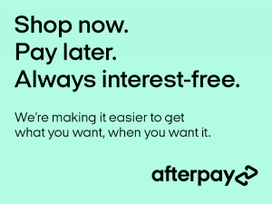 AfterPay Shop now, pay later