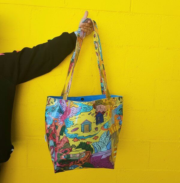 This is Australia Large Luxe Bag