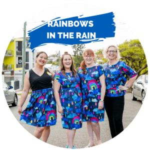 Shop Rainbows in the rain here