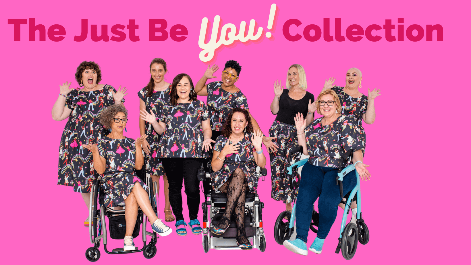 Just Be You collection banner